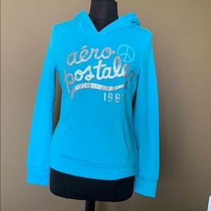 NEW Sky blue Aeropostale hoodie